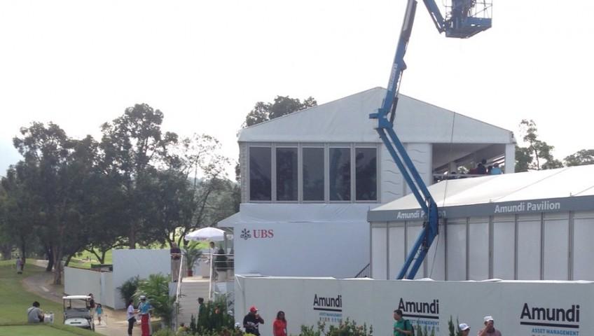 Z45 曲臂升降台於粉嶺高爾夫球場4
